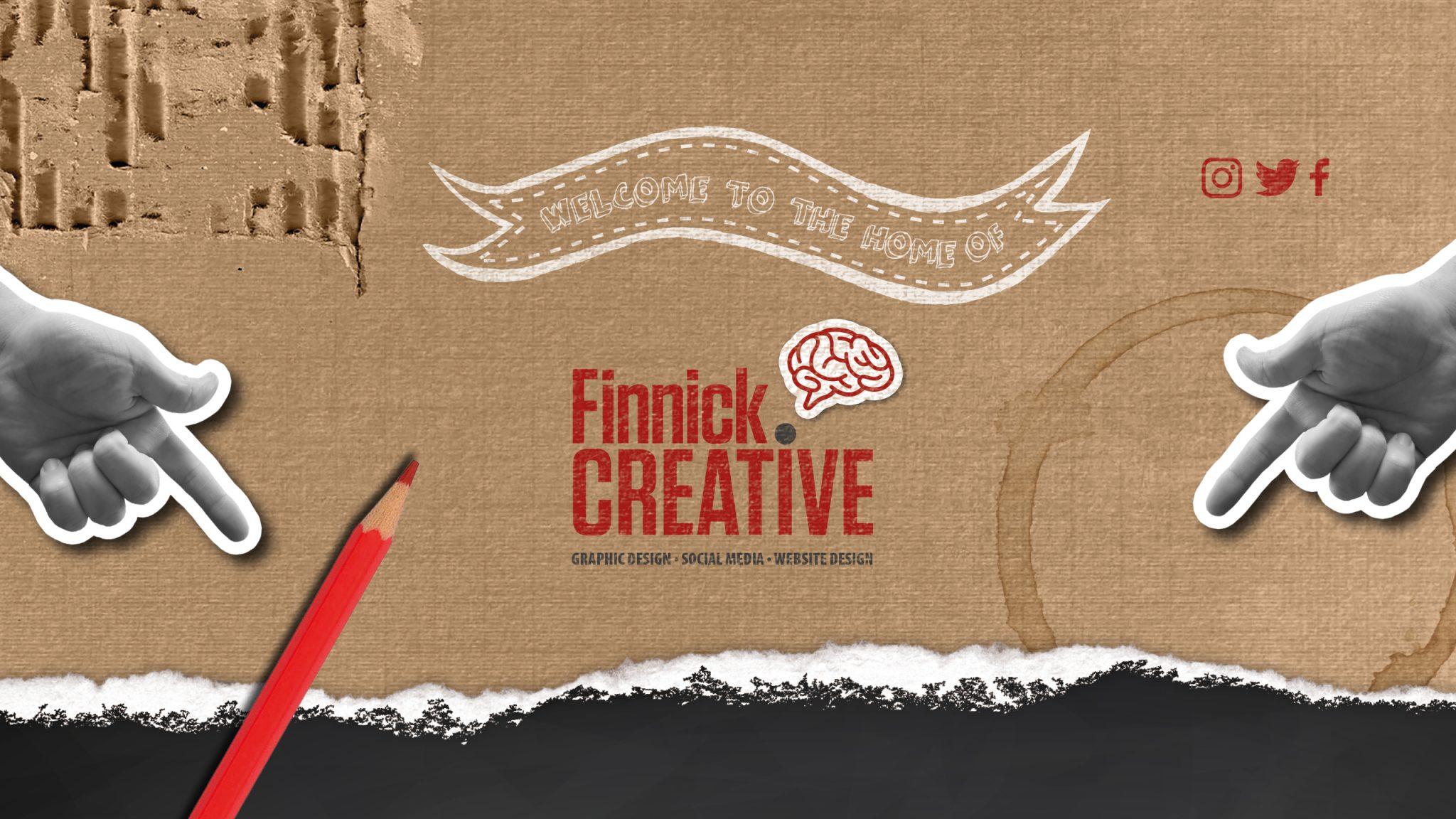 Finnick Creative Graphic Design Cheltenham Web Design Social Media