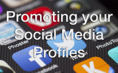 Promoting your Social Media Profiles